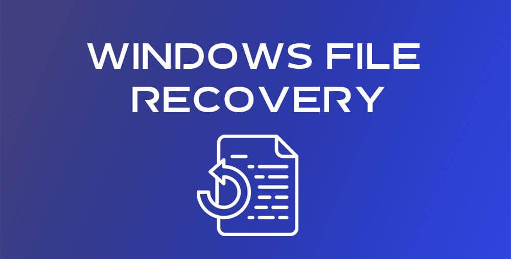 Как восстановить удаленные файлы, данные с помощью Windows File Recovery