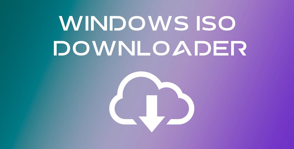 Скачать официальные образы Windows - Windows ISO Downloader
